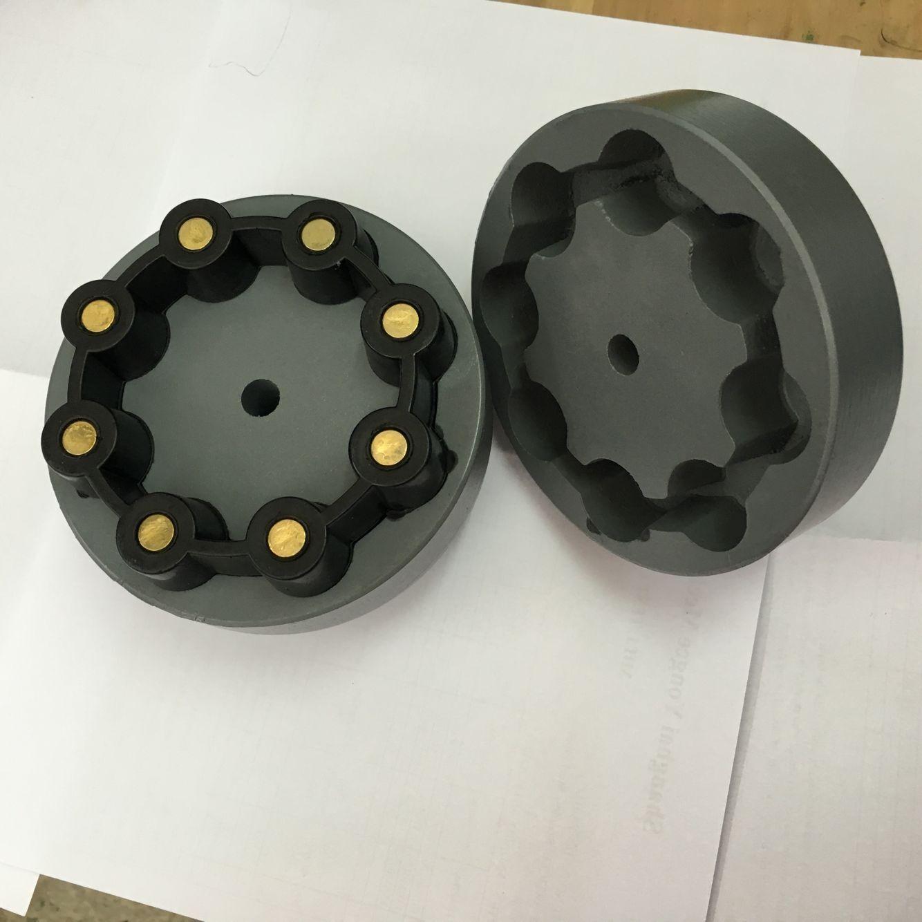MH/CC芯型联轴器橡胶联轴器_组合胶圈弹性联轴器CC-115 CC-130 CC-145 CC-175 CC-200