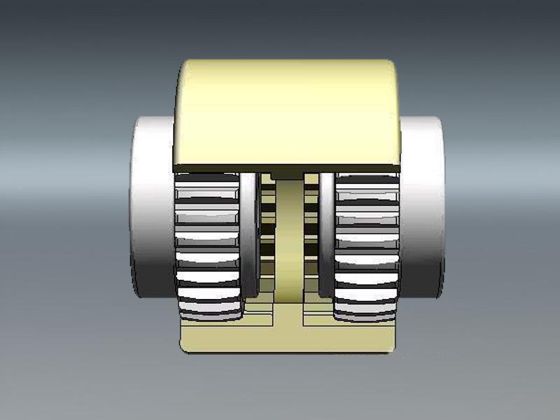 NL型尼龙内齿圈鼓形齿式联轴器_NL尼龙套联轴器