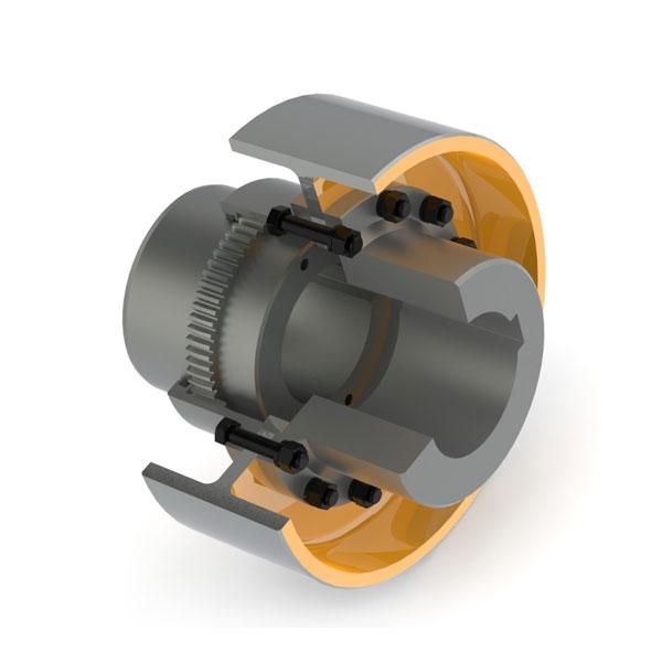 WGZ型带制动轮鼓形齿式联