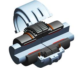 GH液压蛇形弹簧联轴器