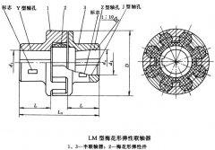 ML梅花形弹性联轴器简易